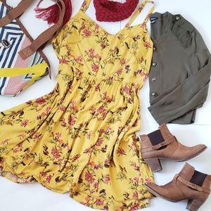 Torrid Yellow Dress